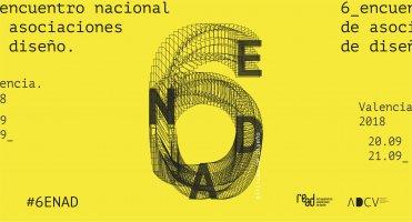 20 y 21 de septiembre, en Valencia: 6ENAD