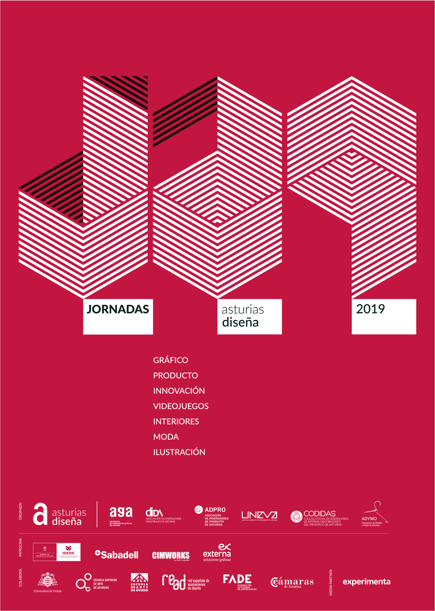 Programa de las Jornadas Asturias Diseña 2019