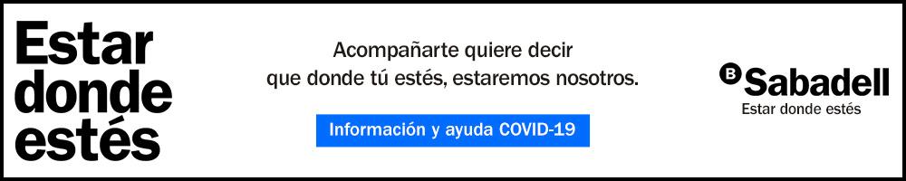 Banc Sabadell - Información y ayuda COVID-19
