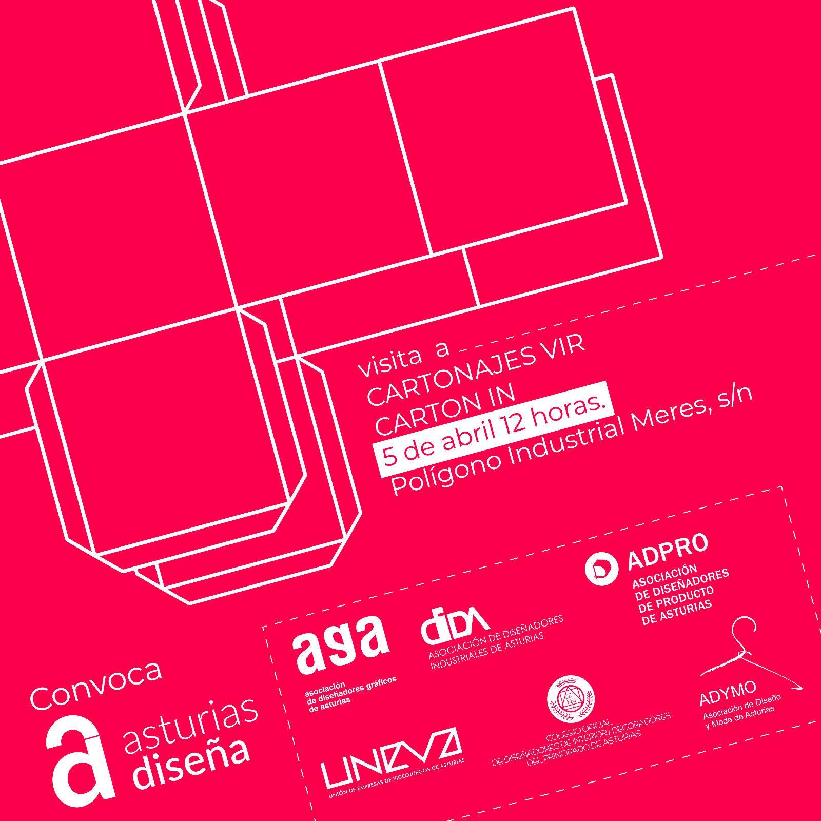 Visita de Asturias Diseña a Cartonajes Vir y Cartón IN