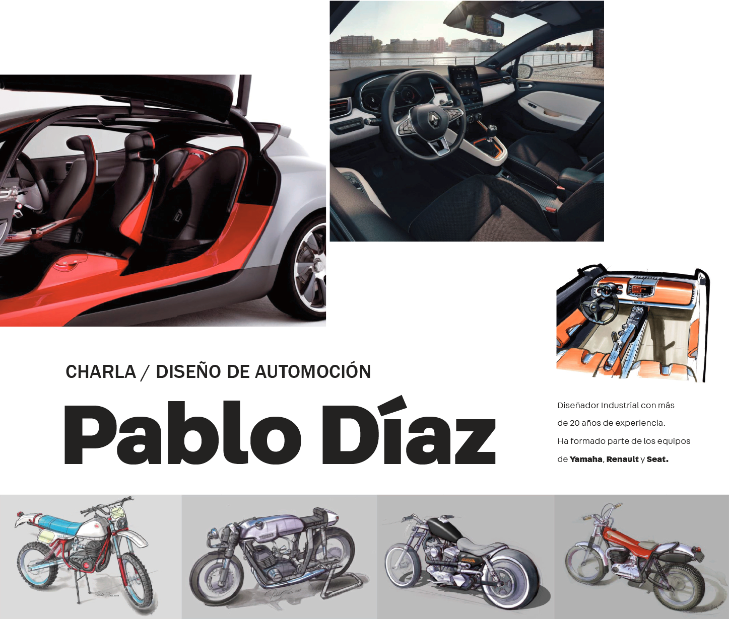 Pablo Díaz, Diseño de Automoción